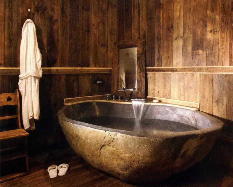 40 Exceptional Rustic Bathroom Designs Filled With