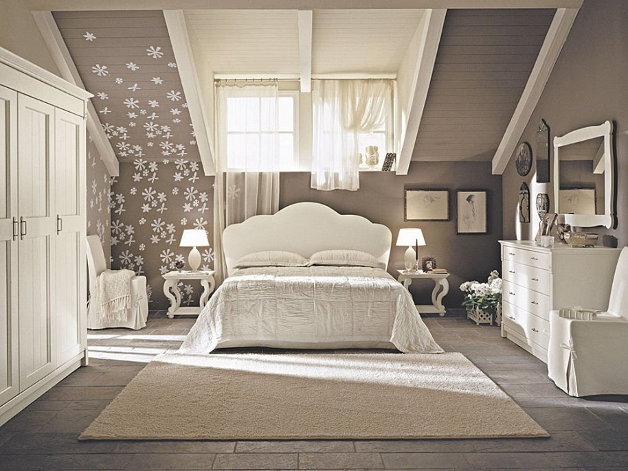 Cute Bedroom Ideas-Classical Decorations Versus Modern Design