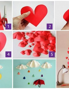 extraordinary smart diy paper wall decor that will color your life also free template included rh homesthetics