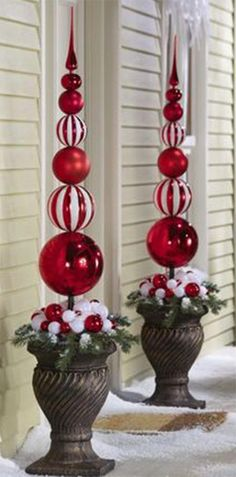 27 DIY Christmas Outdoor Decorations Ideas You Will Want To Start