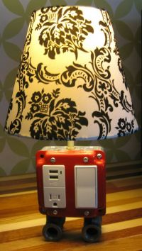 21 Extraordinary Unique DIY Lamp Projects That You Will ...