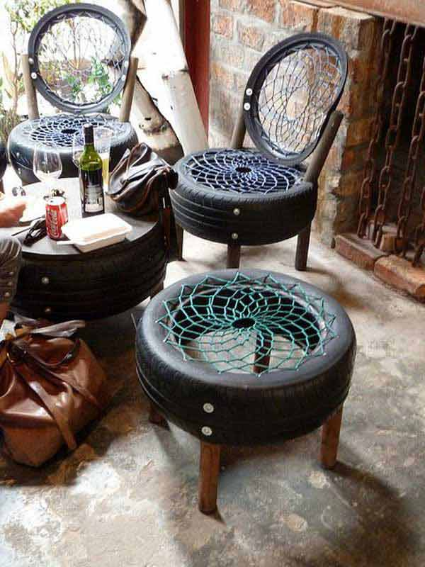 37 Insanely Creative DIY Backyard Furniture Ideas That Everyone Should Pursue homesthetics decor (12)