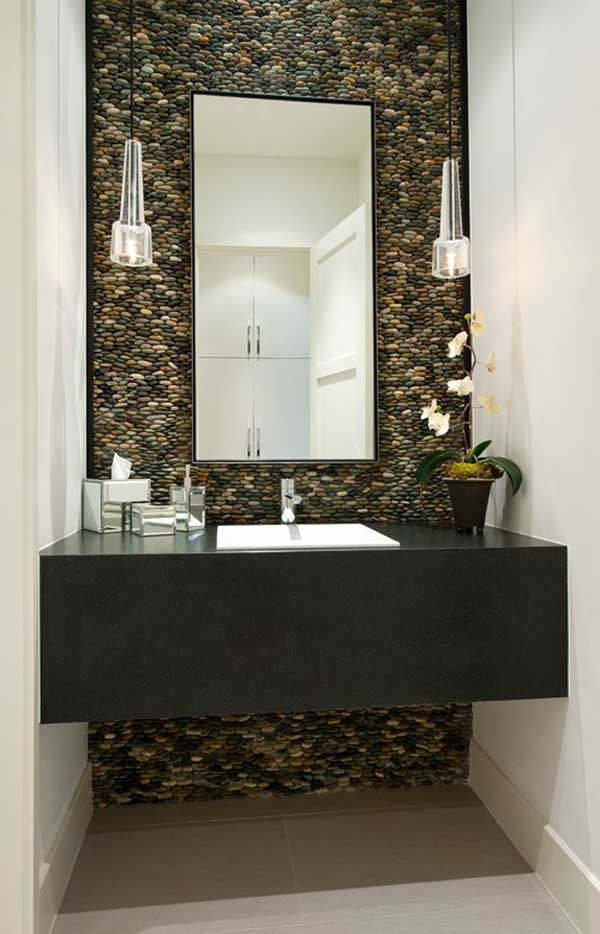 36 examples on how to use river rocks in your decor through diy