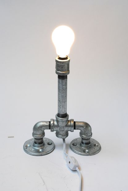 Iron Pipe Light Fixture 16 Sculptural Industrial Diy Pipe Lamp Design Ideas Able