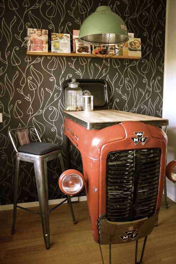 23 Clever DIY Industrial Furniture Projects