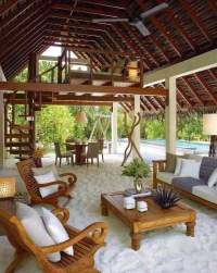 27 Fun and Airy Beach-Style Outdoor Living Design Ideas ...