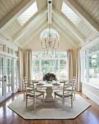 16 Ways To Add Decor To Your Vaulted Ceilings