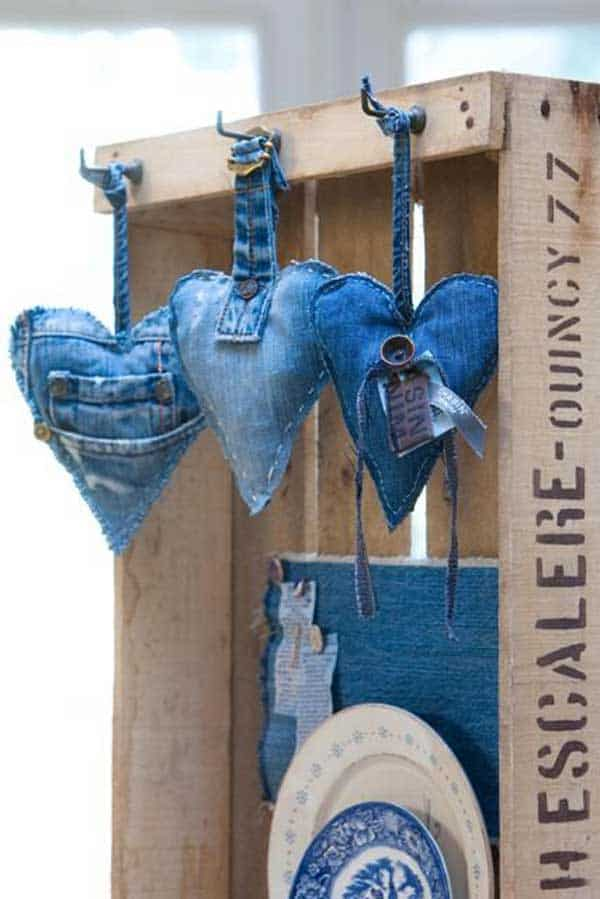 unusual chair covers ultra light folding 25 cool ways to upcycle old denim into diy projects