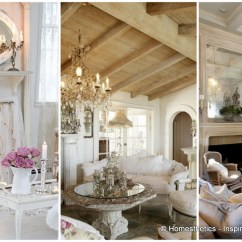 Shabby Chic Living Rooms Pictures Grey Paint Colors Room Top 18 Dreamy Designs