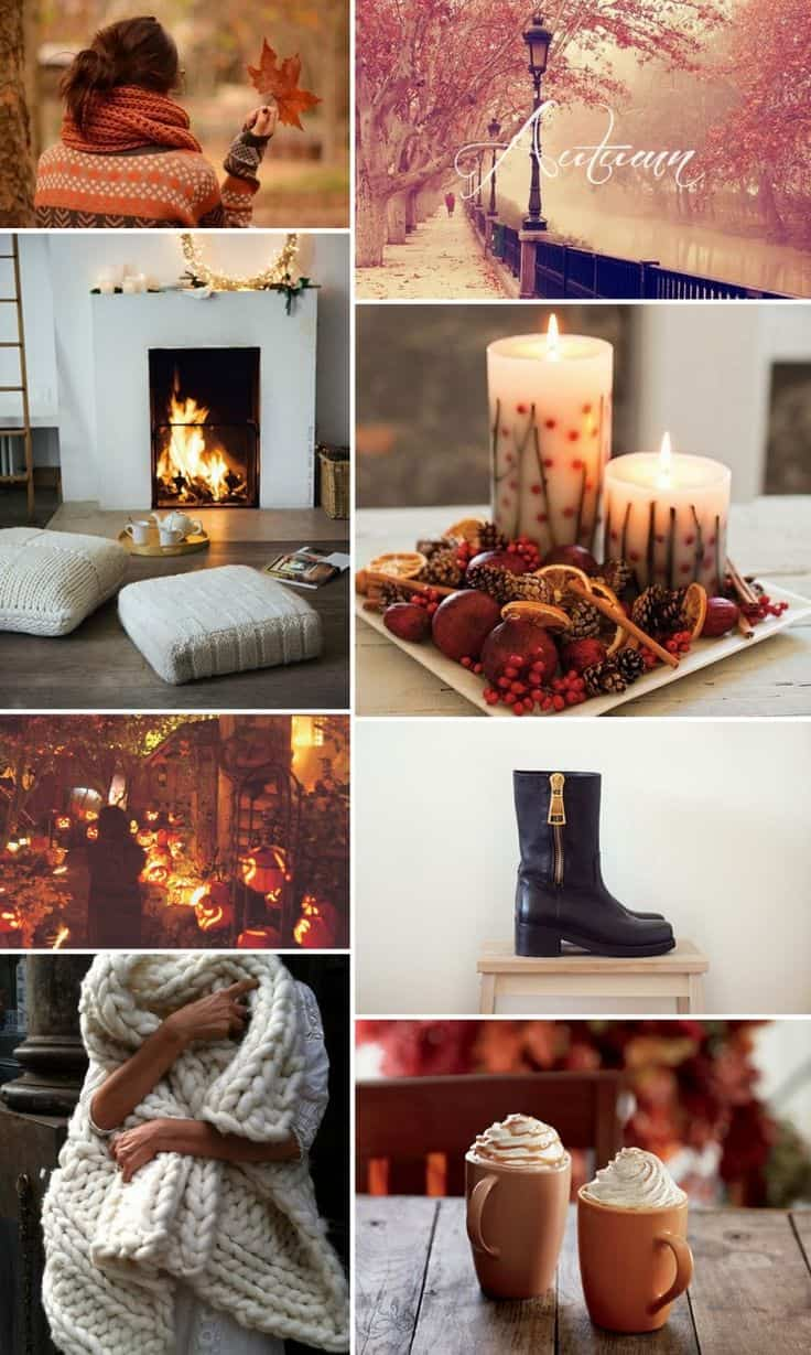 Fall In Love Again Wallpapers Greet Autumn With Cozy Scented Warm Home Decor Ideas