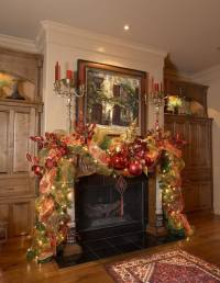 19 Mantel Christmas Decorating Ideas To Make Your Home ...