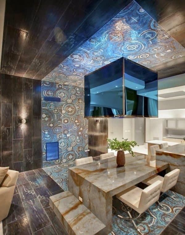 false ceiling designs for living room log cabin style furniture 30 gorgeous gypsum to consider your home decor 12 catchy blue glass reflection modern design every