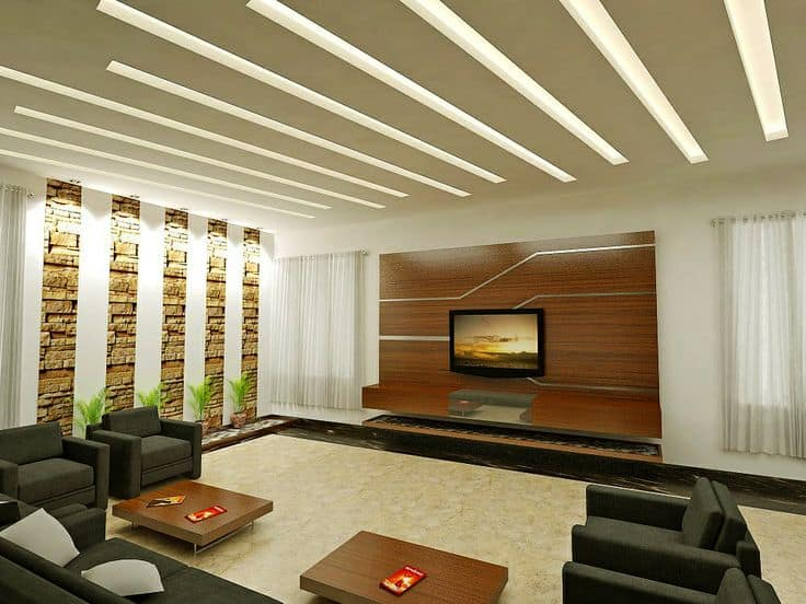 modern wooden ceiling design for living room 2016 the la jolla california 30 gorgeous gypsum false designs to consider your home decor 4 luxury office building hall