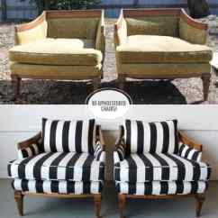 Diy Reupholster Living Room Chair Remodel Before And After Reupholstering Furniture Ideas 22
