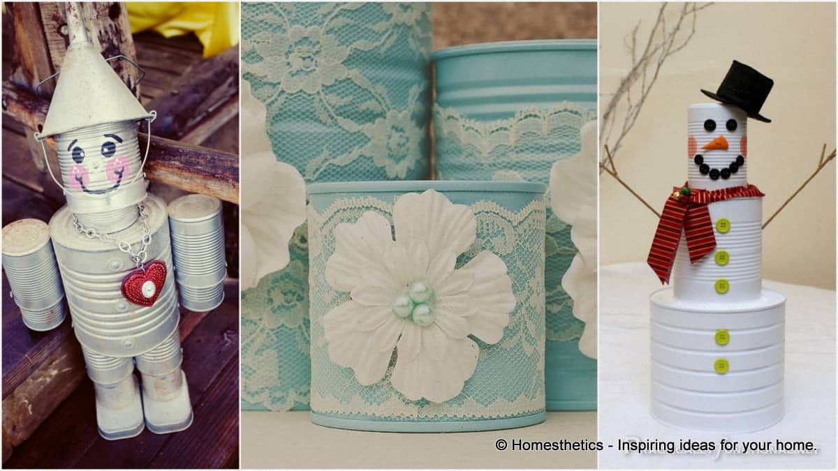 17 Innovative Ways To Recycle And Decorate Discarded Tin
