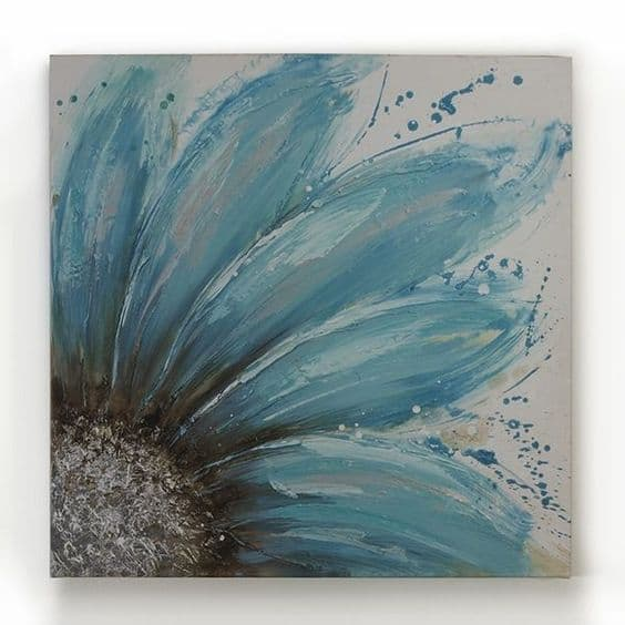 19 easy canvas painting