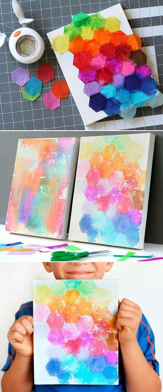 Canvas Paintings Ideas For Kids Architecture Home Decor