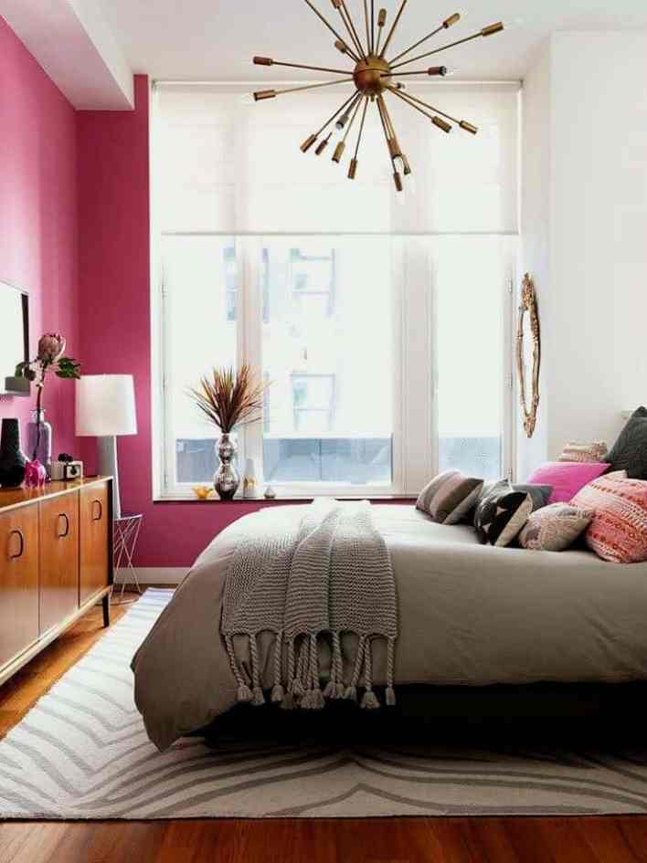 Decorate A Small Bedroom With Two Windows Design Ideas