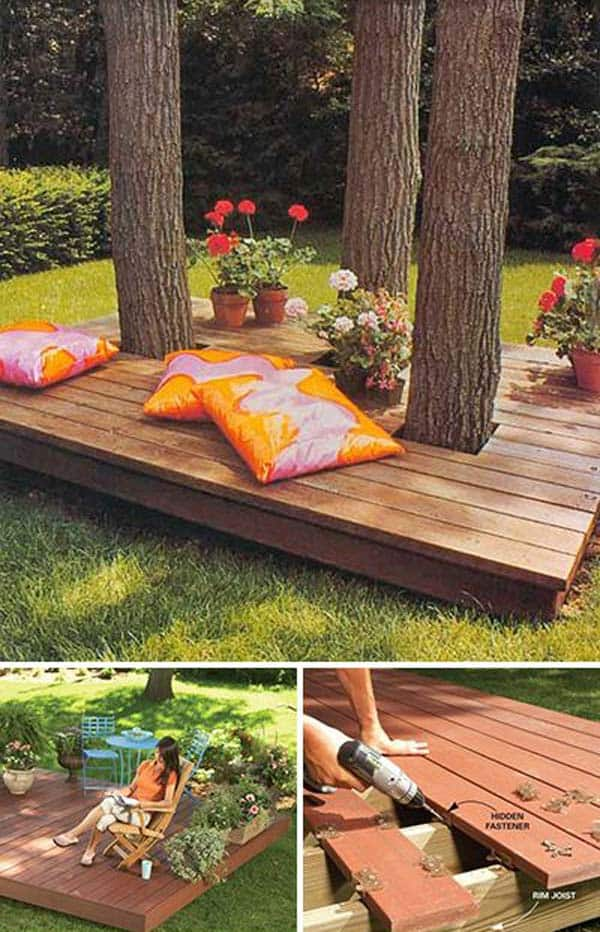 15 Stunning Lowbudget Floating Deck Ideas For Your Home