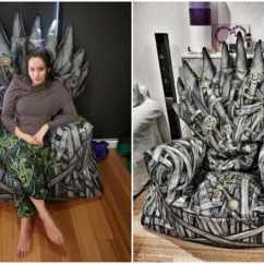 Game Of Throne Chair Vintage Wooden Dining Chairs 25 Brilliant Thrones Diy Projects All Men Must Craft Iron Bean Bag