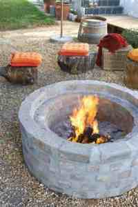 39 Easy To Do DIY Fire Pit Ideas