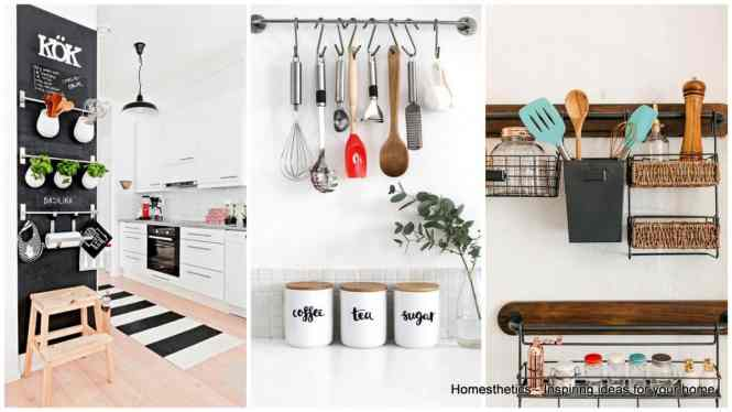 Kitchen Wall Storage Ideas Makipera