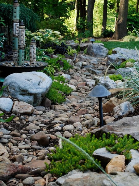 rock garden ideas implement