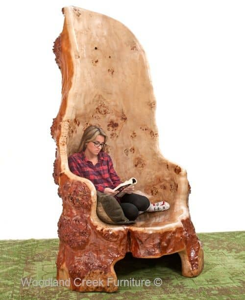 wine adirondack chair high banner add an unique tree furniture piece to your home - homesthetics inspiring ideas for home.