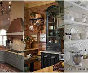 Majestic French Country Kitchen Designs Homesthetics Inspiring Ideas For Your Home