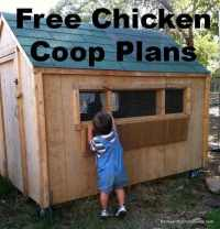 57 DIY Chicken Coop Plans in Easy to Build Tutorials