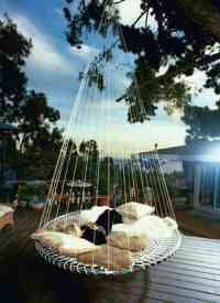53 Incredible Hanging Beds to Float in Peace - Homesthetics