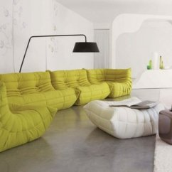 The Mah Jong Sofa From Ligne Roset Hanging Wall Art Above 27 Splendidly Comfortable Floor Level Sofas To Enjoy ...