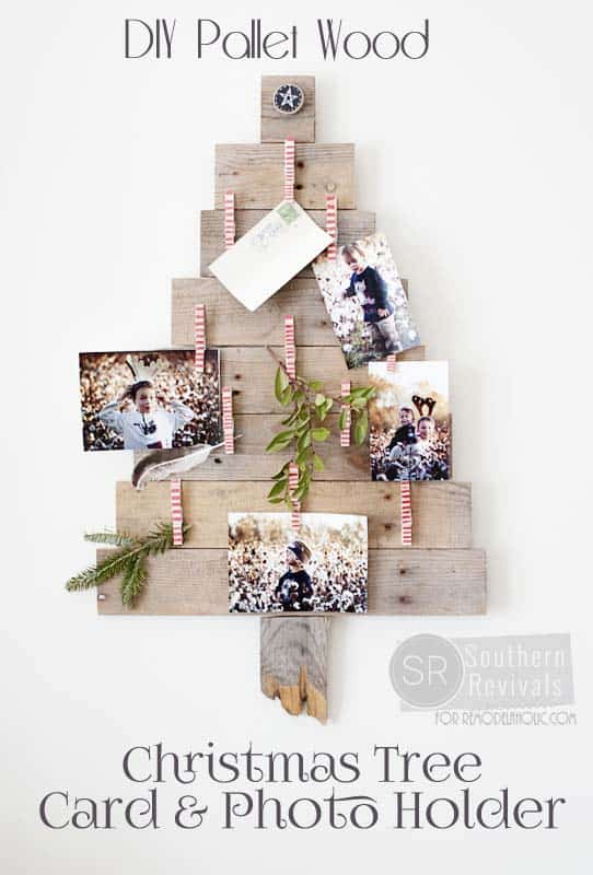 18 Christmas Pallet Projects That Will Give A Festive