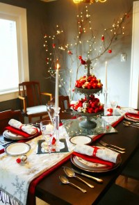 20 Wonderful Christmas Dinner Table Settings For Merry ...