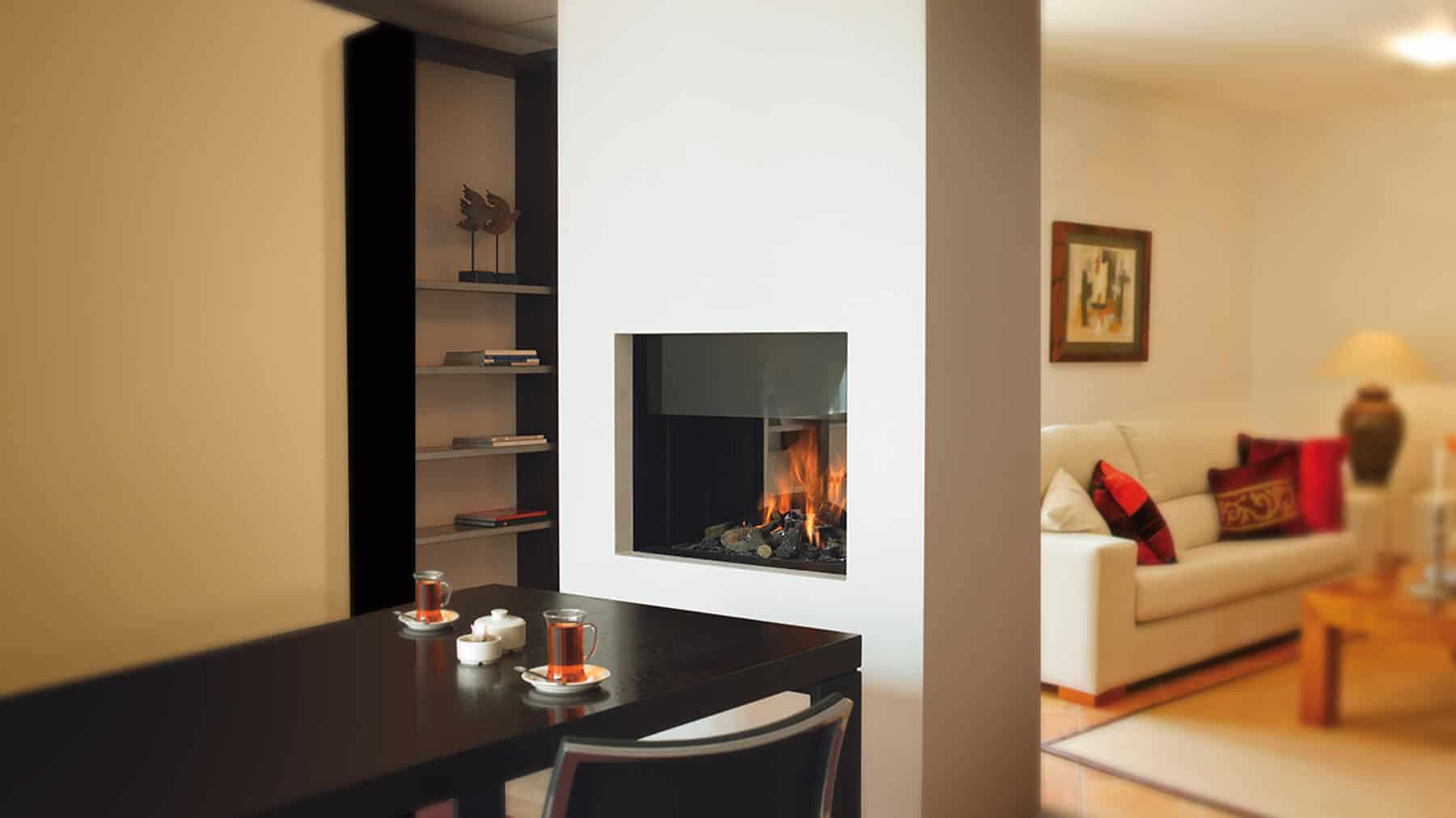 20 Functional DoubleSided Fireplaces For Your Spacious Home  Homesthetics  Inspiring ideas