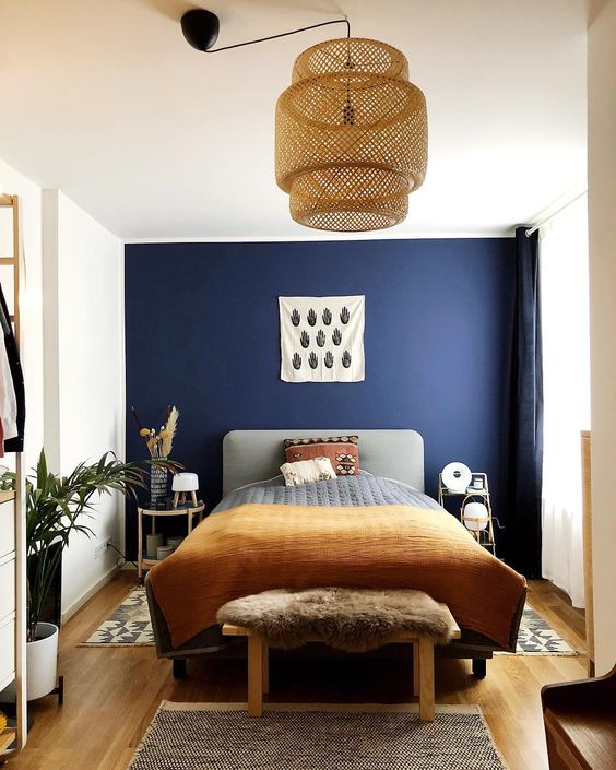 33 Epic Navy Blue Bedroom Design Ideas To Inspire You Homesthetics Inspiring Ideas For Your Home