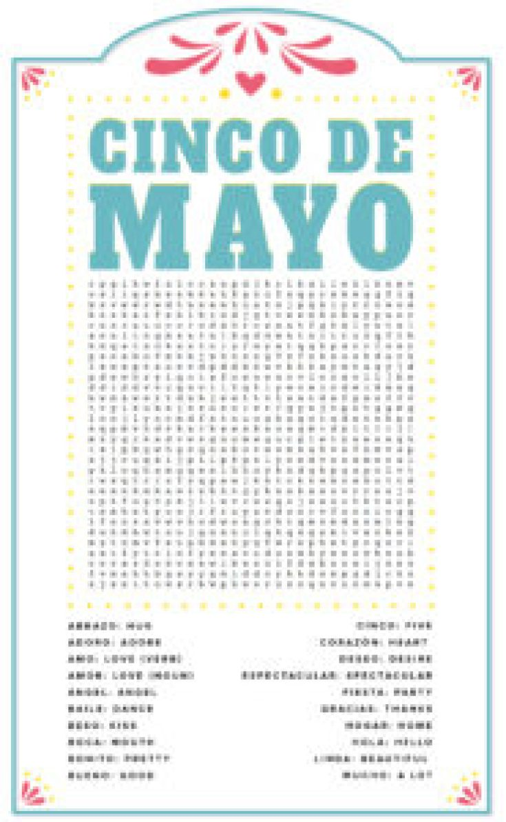 fiesta word search puzzle