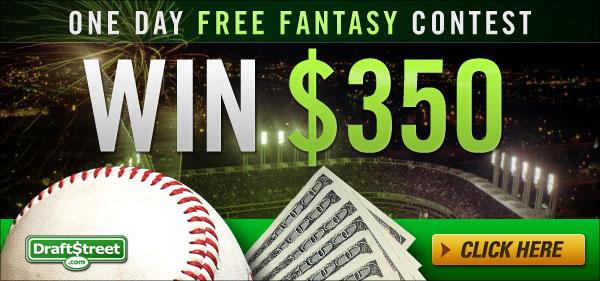 Cash prizes fantasy baseball