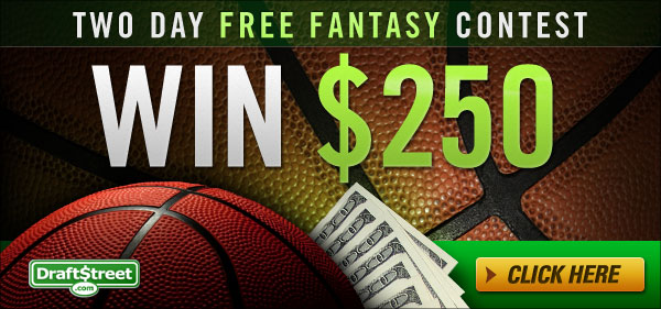 Two day FREE Fantasy Contest: Win $250 in cash prizes | HoopsHype