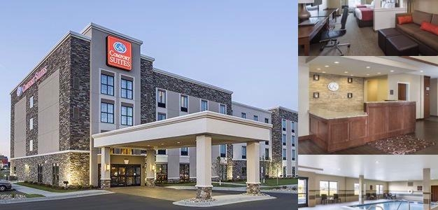 Comfort Suites Fargo Nd 4417 23rd South 58104