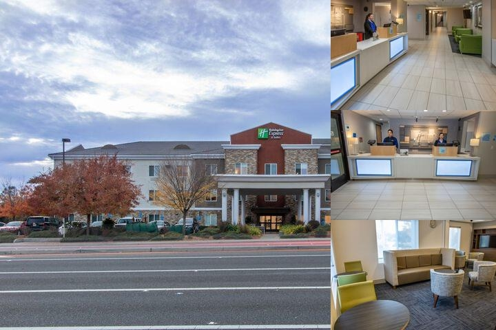 Holiday Inn Express Hotel Suites Roseville Ca 1398 East