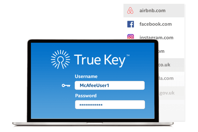 Features TrueKey