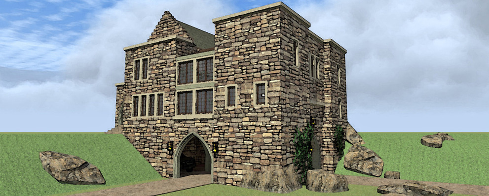 Why Not A Small Castle For Your Dream Home Time To Build