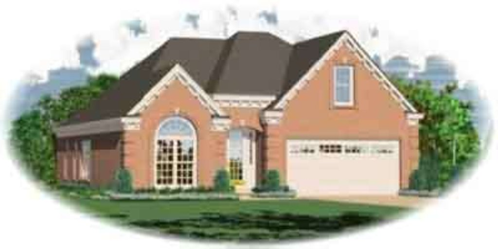 Traditional Style House Plan 3 Beds 2 Baths 1489 Sq Ft