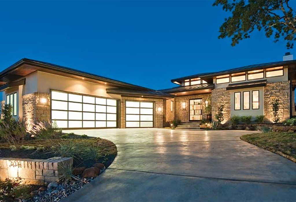 Contemporary Style House Plan  4 Beds 4 Baths 4237 SqFt