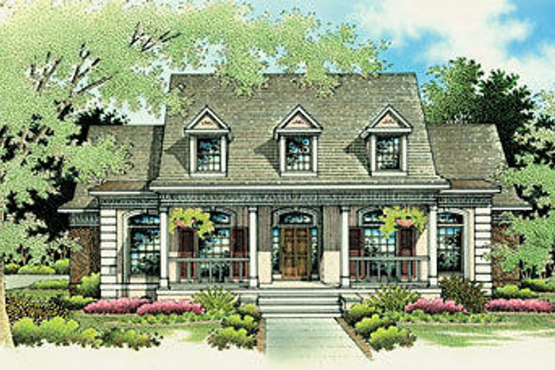 Southern Style House Plan 3 Beds 2 5 Baths 2123 Sq Ft