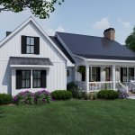 Farmhouse Style House Plan 4 Beds 3 Baths 2192 Sq Ft Plan 120 263 Eplans Com