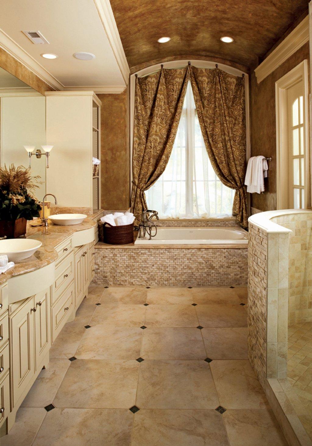 European Style House Plan - 5 Beds Baths 4357 Sq Ft