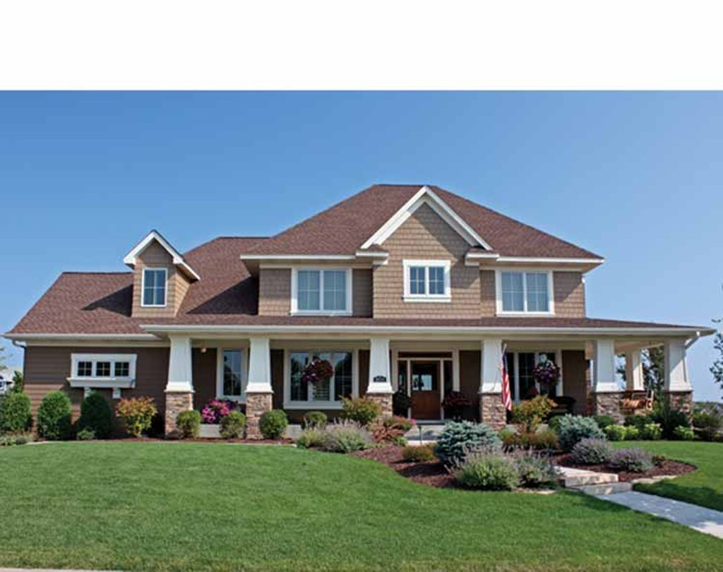 Country Style House Plan - 4 Beds 3.5 Baths 3635 Sq Ft