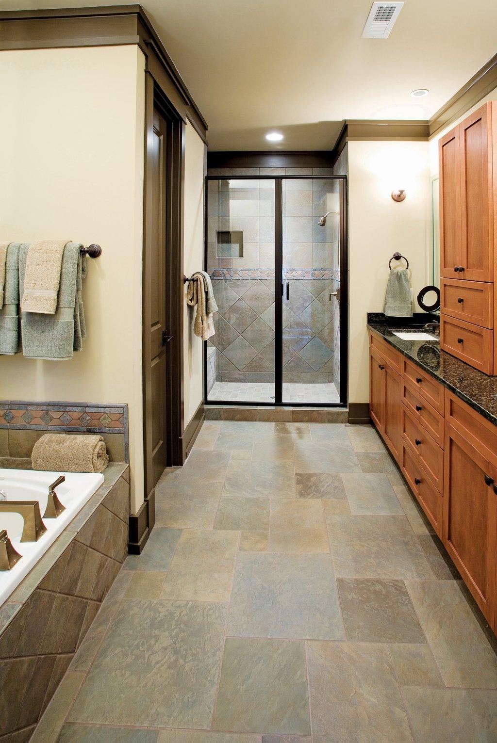 European Style House Plan - 4 Beds Baths 2263 Sq Ft